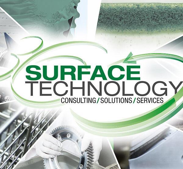 Concepto de 360 grados Surface Technology de Kluthe en Colombia