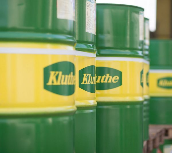 Barriles de Kluthe con Producto Kluthe en Colombia