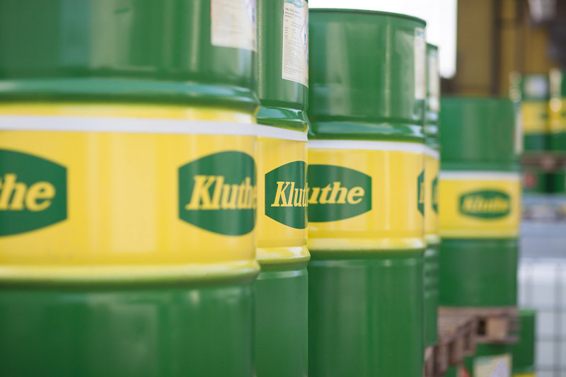 Barriles de Kluthe con Producto Kluthe en Colombia