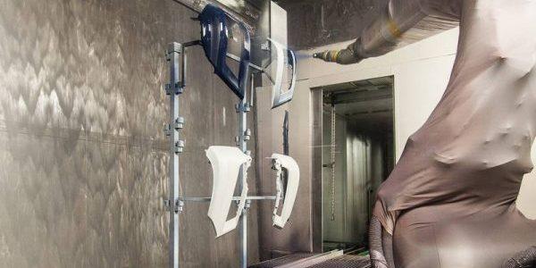 Cortinas Recolectoras de Agua en Líneas de Pintura Electrostática Líquida