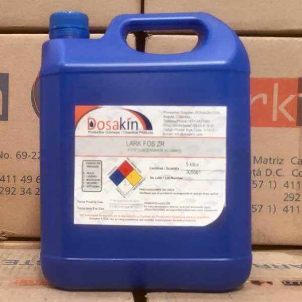 LARK FOS ZR, es un fosfo-desengrase de Níquel, desarrollado especialmente para desoxidar y limpiar Aluminio y fosfatación de Acero Inox